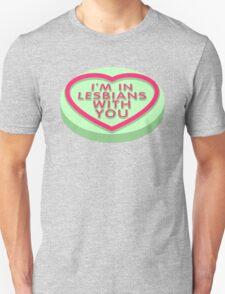 Candy Heart Pilgrim Unisex T-Shirt