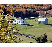 Capstick, Cape Breton Photographic Print