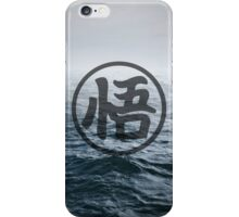 "Dragon Ball Kanji ""悟"" Symbol iPhone Case/Skin"