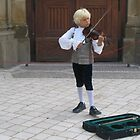 Young violinist by machka