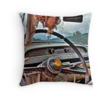 Cadillac Cruising Throw Pillow
