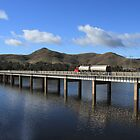 Bonnie Doon Bridge. by Barbara  Glover