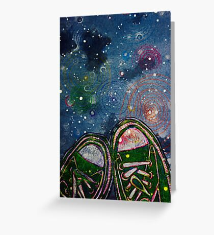 A Walk Among The Stars Greeting Card