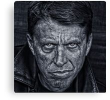Rough Man Canvas Print