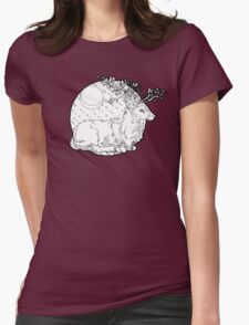 orchidantlers Womens Fitted T-Shirt