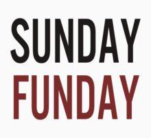 Sunday Funday (red) Baby Tee