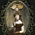 Steampunk Civil War Portrait: Adelaide by WinonaCookie