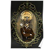 Steampunk Civil War Portrait: Silas Poster