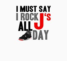 Rock JS All Day J4 Bred Unisex T-Shirt