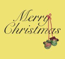 Christmas Mitts Baby Tee