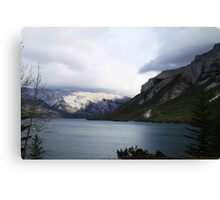 Lake Minnewanka Canvas Print