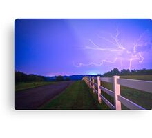 Country Road-Nebraska Metal Print