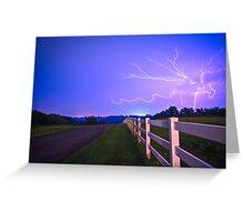Country Road-Nebraska Greeting Card