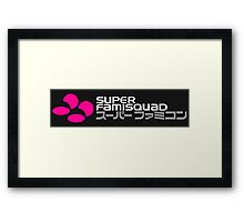 Super Famisquad Framed Print