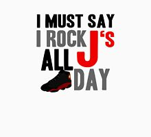 Rock JS All Day Bred13 Unisex T-Shirt