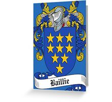 Baillie  Greeting Card