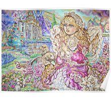 Yumi Sugai.An angel of praying. Poster