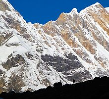 Mountain Scape - Annapurna by ikor