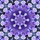 The purple bottle kaleidoscope by Yampimon