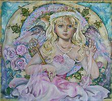 Yumi Sugai.The angel of the pink sapphire. by YumiSugai