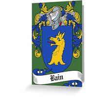 Bain  Greeting Card