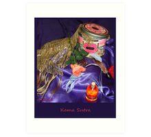 Kama Sutra – Sacred Love Art Print