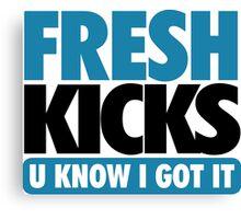 Fresh Kick U Know I Got It Gamma Canvas Print