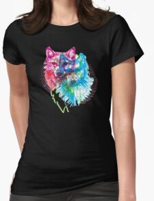howl 3d Womens Fitted T-Shirt