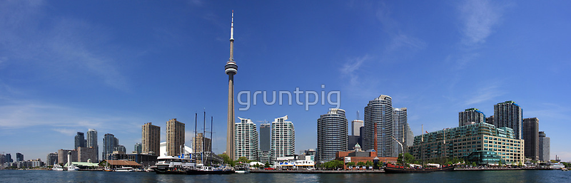 toronto scape by gruntpig