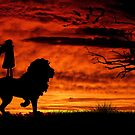 Lion and Lioness by Rookwood Studio ©