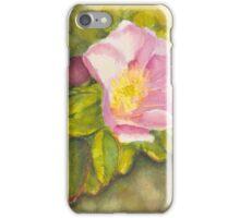 Rambling Rose on a Danish beach iPhone Case/Skin