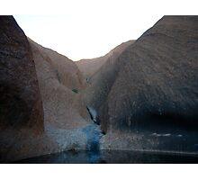 Uluru water source Photographic Print