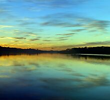 Aqua - Narrabeen Lakes, Sydney - The HDR Experience by Philip Johnson