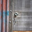 Old Door New Lock by aussiebushstick