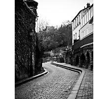 Montmartre street Photographic Print