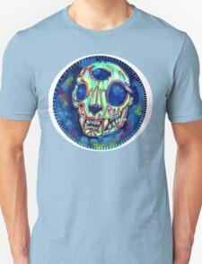 psychedelic psychic cat skull T-Shirt
