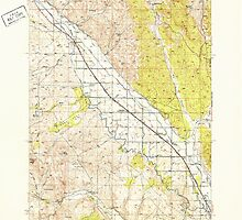 USGS Topo Map Oregon Jamieson 282613 1950 62500 by wetdryvac