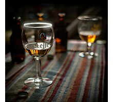 Beer at home Photographic Print