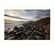 Dunstanburgh Castle from the North Art Print