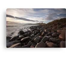 Dunstanburgh Castle from the North Canvas Print