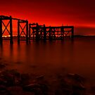 Aberdour Pier by Don Alexander Lumsden (Echo7)