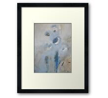 misty morning observation edit Framed Print