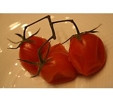 Cherry Tomatoes Photographic Print