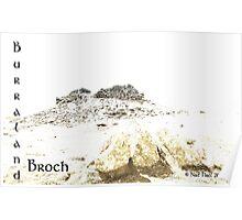 Burraland Broch Poster
