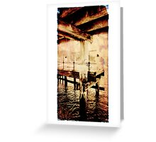 Coastal Memories (Scott Peters, 2009, Digital Mixed Media) Greeting Card