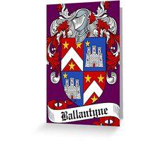 Ballantyne (Bannatyne) Greeting Card