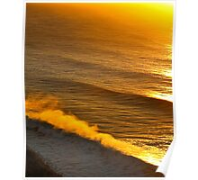 morning swell Poster
