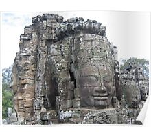 Faces of Angkor Poster