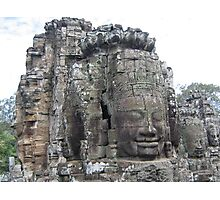 Faces of Angkor Photographic Print