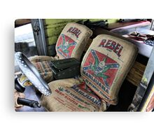 Seat Covers Canvas Print